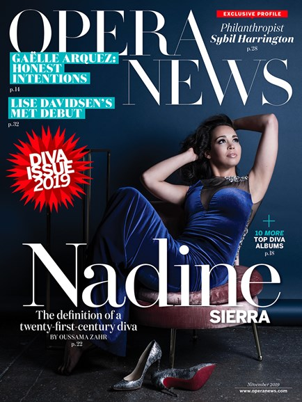 Opera News Cover - 11/1/2019