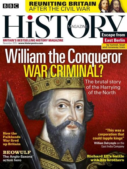 BBC History Cover - 11/1/2019
