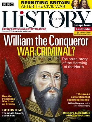 BBC History Magazine | 11/2019 Cover