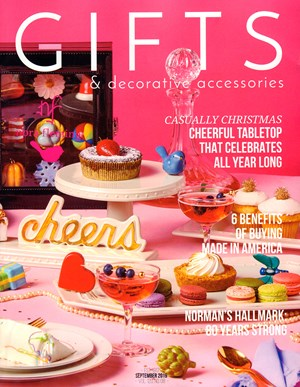 Gifts And Decorative Accessories Magazine | 9/2019 Cover
