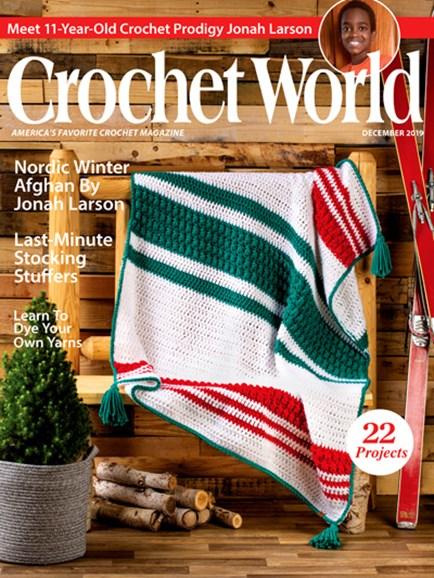 Crochet World Cover - 12/1/2019