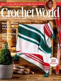 Crochet World Magazine   12/2019 Cover