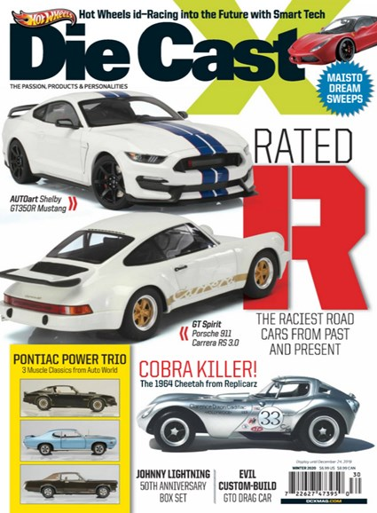 Diecast X Cover - 12/1/2019