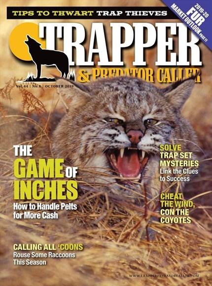 Trapper & Predator Caller Cover - 10/1/2019