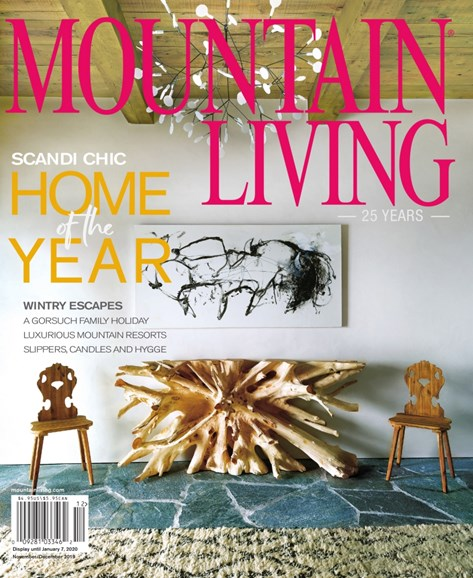 Mountain Living Cover - 11/1/2019