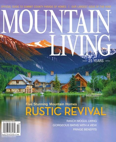 Mountain Living Cover - 9/1/2019