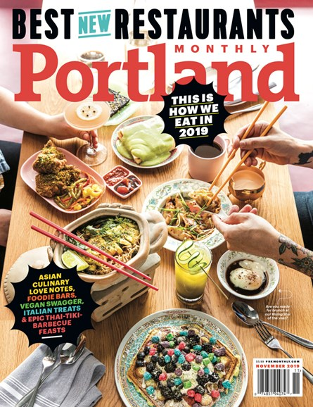 Portland Monthly Cover - 11/1/2019