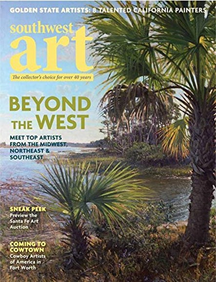 Southwest Art Cover - 11/1/2019