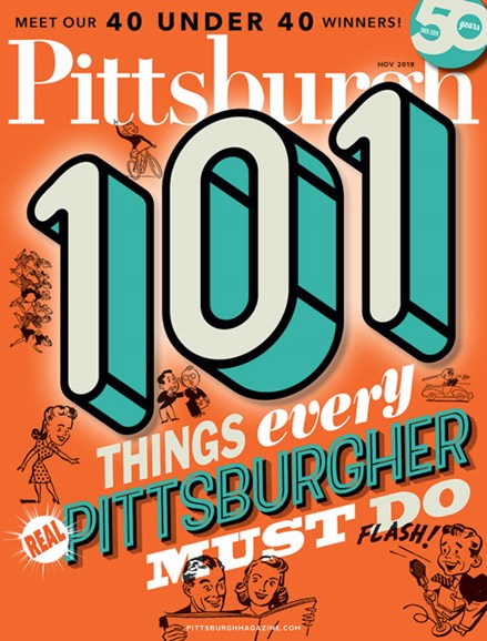 Pittsburgh Magazine Cover - 11/1/2019