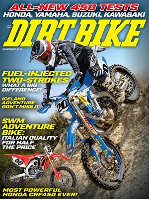 Dirt Bike Magazine | 11/2019 Cover