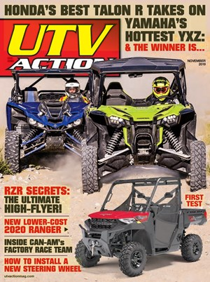 UTV Action Magazine | 11/2019 Cover