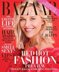 Harper's Bazaar Magazine | 11/2019 Cover