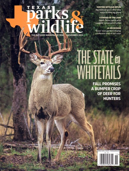 Texas Parks & Wildlife Cover - 11/1/2019