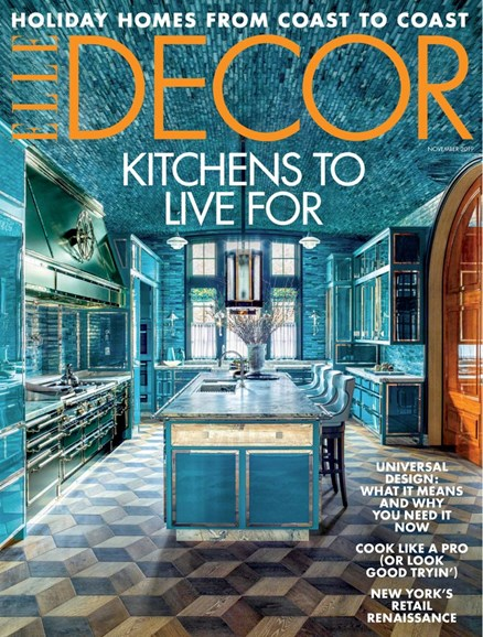 ELLE DECOR Cover - 11/1/2019