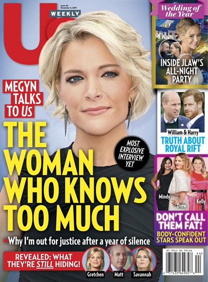 Us Weekly Cover - 11/4/2019