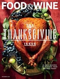Food & Wine Magazine | 11/1/2019 Cover