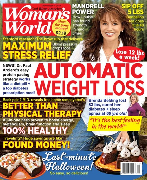 Woman's World Cover - 11/4/2019