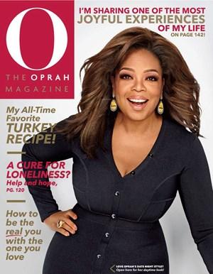 O The Oprah Magazine   11/2019 Cover