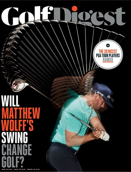 Golf Digest Cover - 11/1/2019