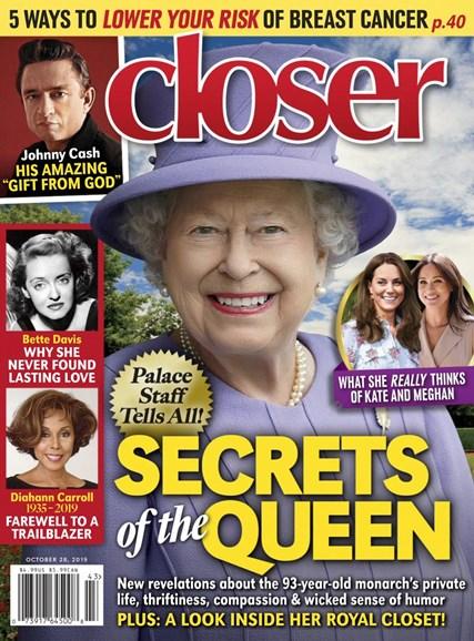 Closer Cover - 10/28/2019