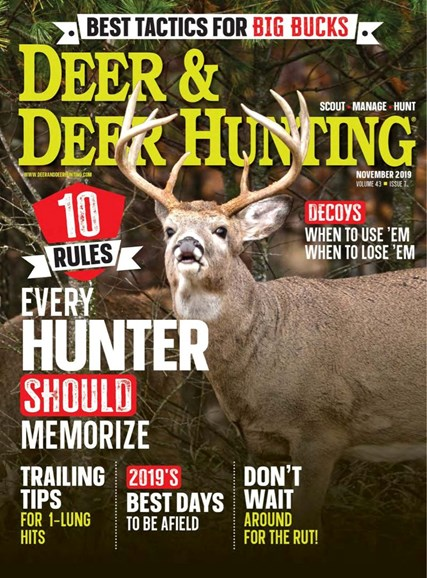 Deer & Deer Hunting Cover - 11/1/2019