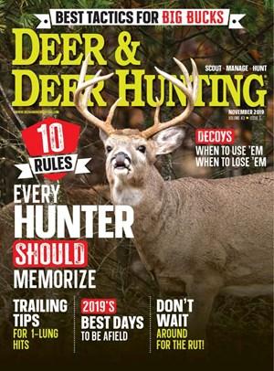 Deer & Deer Hunting Magazine   11/2019 Cover