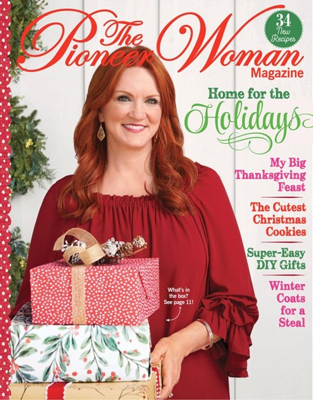 The Pioneer Woman Cover - 12/1/2019