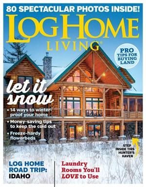 Log Home Living Magazine | 11/2019 Cover