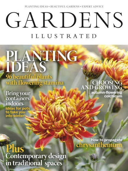Gardens Illustrated Cover - 11/1/2019