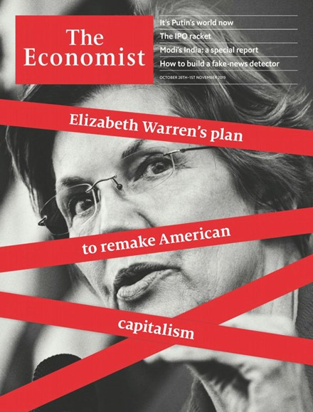 The Economist Cover - 10/26/2019