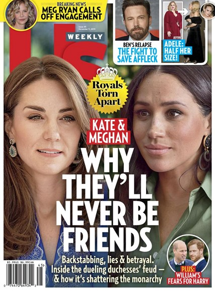 Us Weekly Cover - 11/11/2019