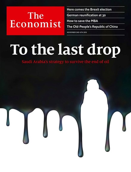 The Economist Cover - 11/2/2019