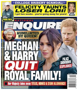The National Enquirer | 11/11/2019 Cover
