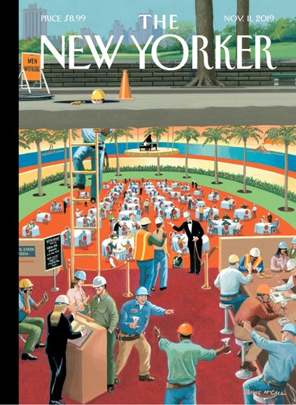 The New Yorker Cover - 11/11/2019