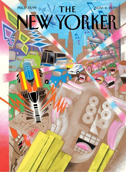 The New Yorker Cover - 11/4/2019