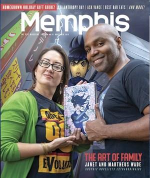 Memphis Magazine   11/2019 Cover
