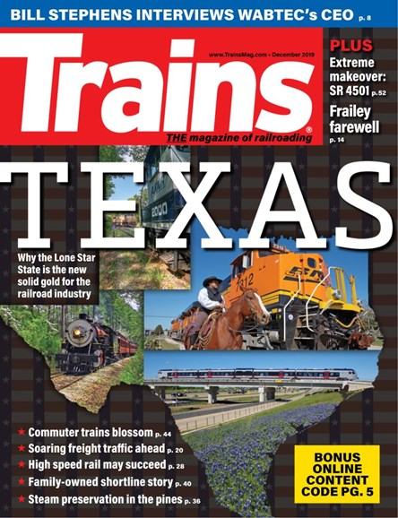 Trains Cover - 12/1/2019