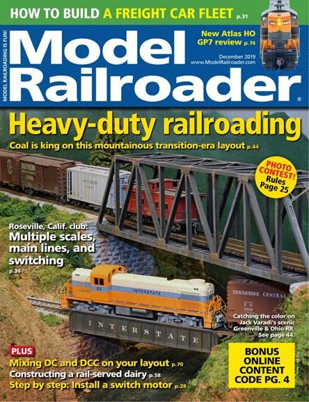 Model Railroader Cover - 12/1/2019