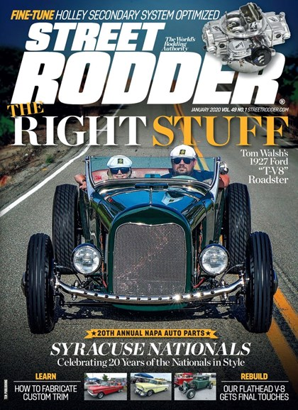 Street Rodder Cover - 1/1/2020