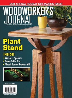 Woodworker's Journal Magazine   12/2019 Cover