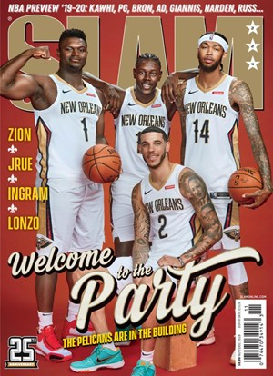 Slam Magazine | 11/2019 Cover