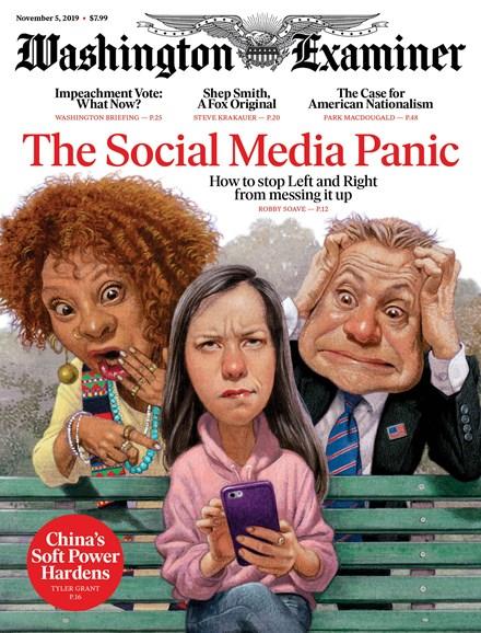 Washington Examiner Cover - 11/5/2019