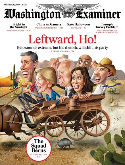 Washington Examiner Cover - 10/29/2019