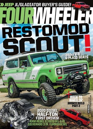 Four Wheeler Magazine | 1/2020 Cover