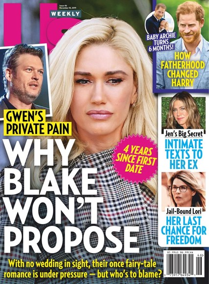 Us Weekly Cover - 11/18/2019