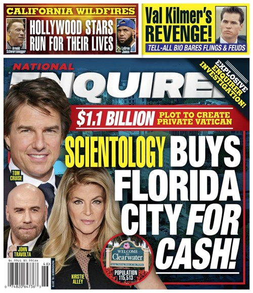 National Enquirer Cover - 11/18/2019