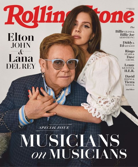 Rolling Stone Cover - 11/1/2019