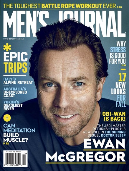 Men's Journal Cover - 11/1/2019