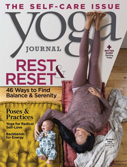 Yoga Journal Cover - 11/1/2019