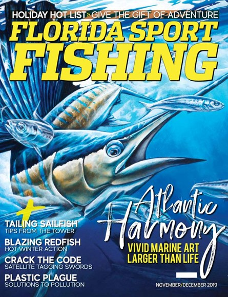 Florida Sport Fishing Cover - 11/1/2019